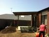 flat roof verandah