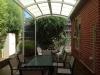 steel curved roof verandah