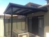 steel flat roof verandah